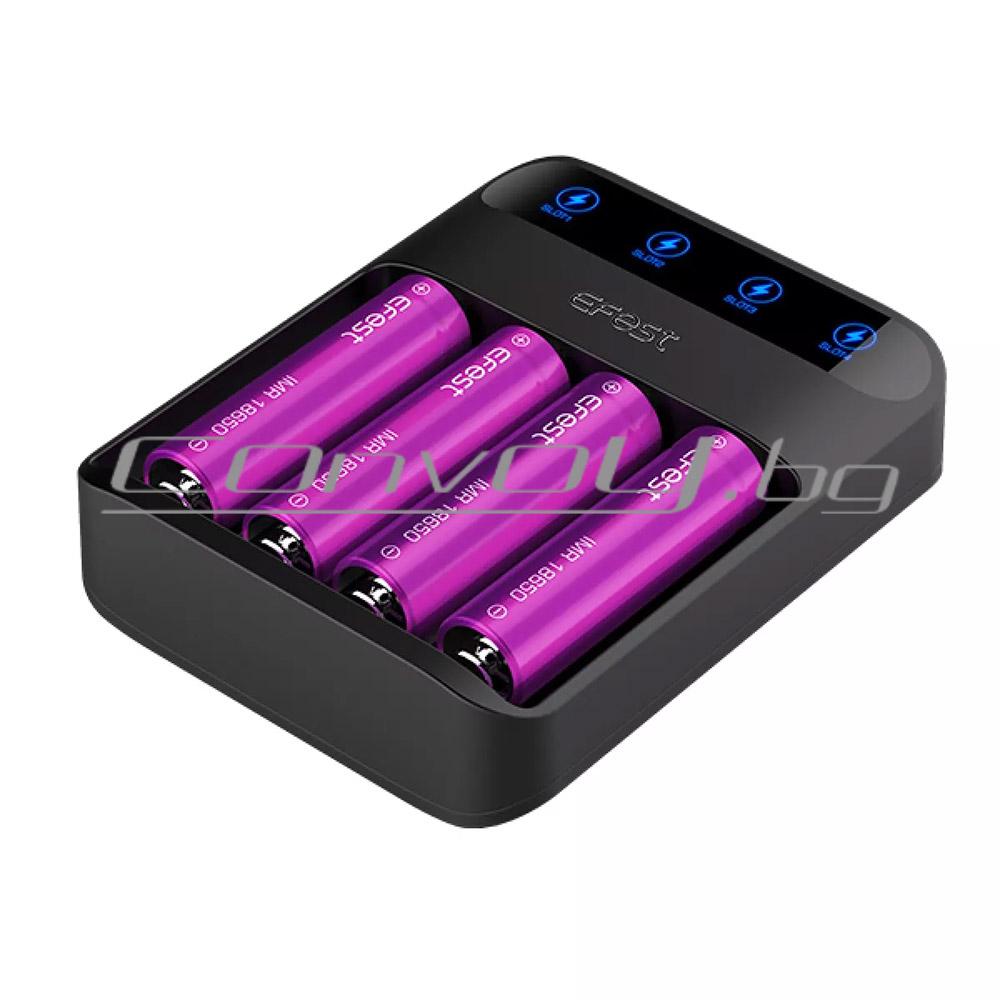 Efest Lush Q4 Зарядно за батерии